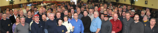 GE workers gather for a CGC meeting in Evandale, Ohio