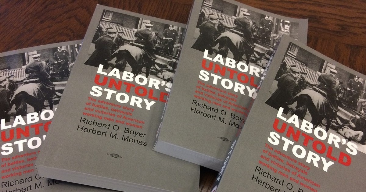 Four copies of Labor's Untold Story