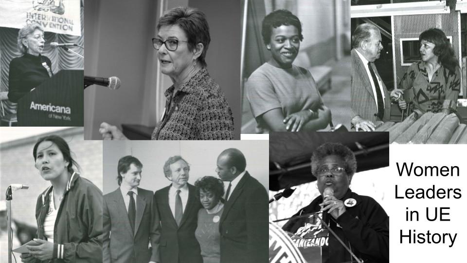 Women leaders in UE history