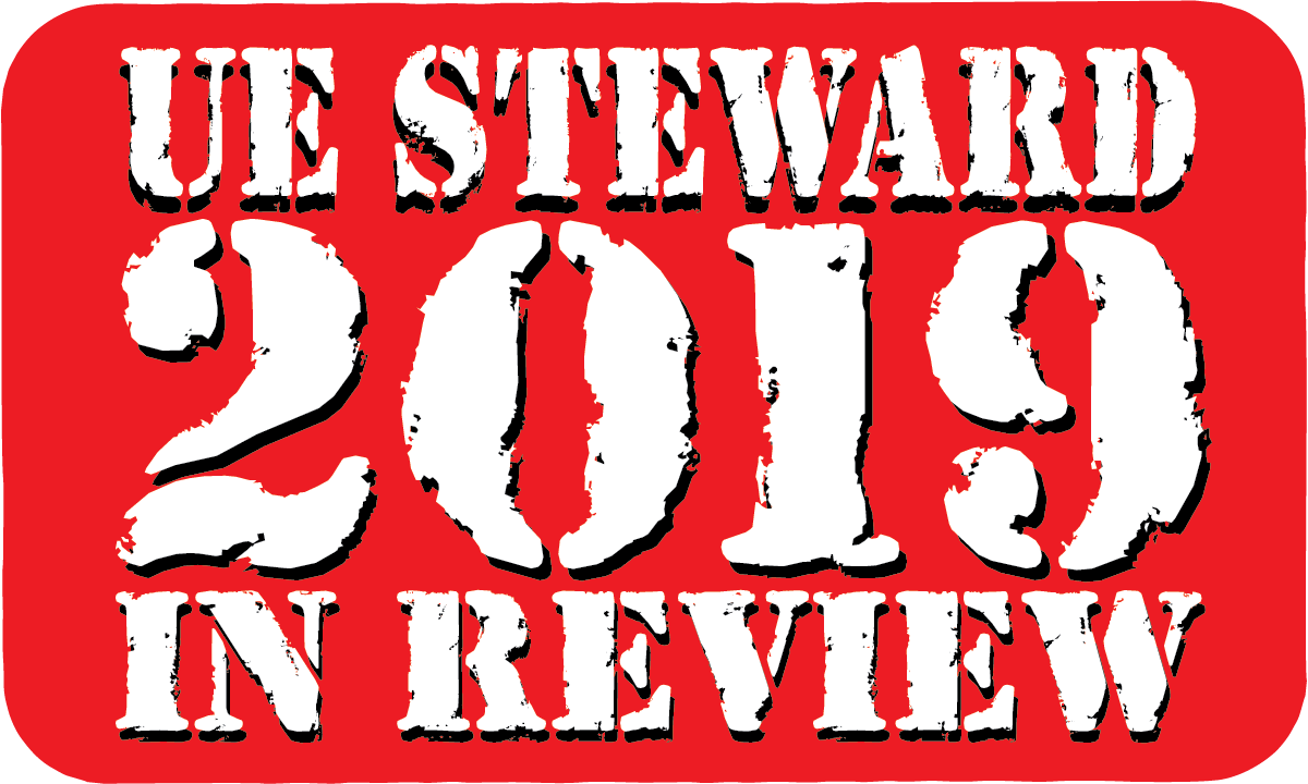UE Steward 2019 in Review