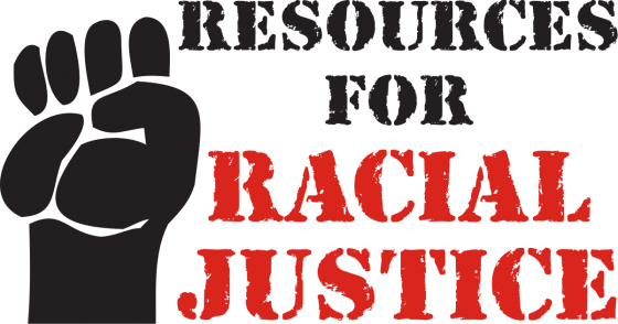 Resources for Racial Justice (image of fist)