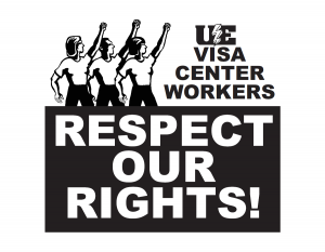 UE Visa Center Workers