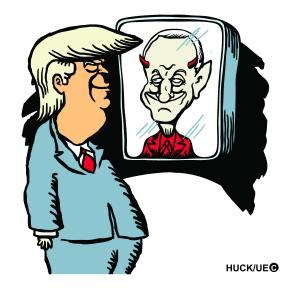 Trump looks in the mirror and sees Roy Cohn