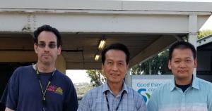 Local 1008 members Jed Klang, Ho Tran, Duy Nguyen