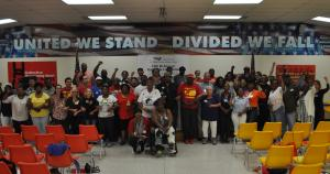Local 150 convention delegates