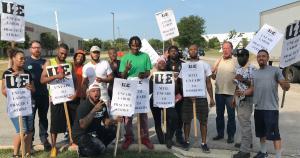 MTIL workers on unfair labor practice strike
